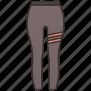 leggings, pants, sleeve, sportswear, yoga icon