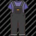 body, clothes, denim, dungarees, overalls
