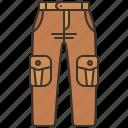 cargo, combat, pants, pocket, trousers