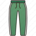 casual, outfit, pants, sport, sportswear icon