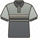 casual, clothing, dress, polo, shirt icon