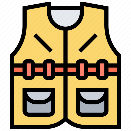 Download Clothes Fishing Sleeveless Vest Work Icon Download On Iconfinder
