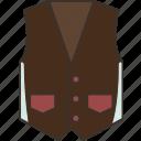 waistcoat, vest, formal, suit, menswear