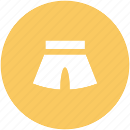 beach wear, breeches, shorts, swim clothing, swimwear, woman shorts icon
