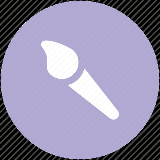 cosmetic brush, eyelash brush, makeup accessories, makeup applicator, makeup brush icon