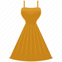 clothes, clothing, dress, summer, sundress icon