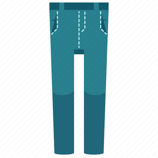 clothes, clothing, fashion, jeans, pants, trousers icon
