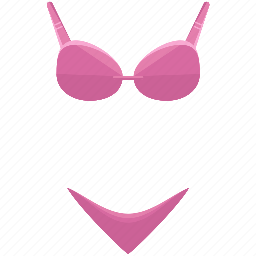 bikini, bra, clothes, clothing, undergarments, underwear icon