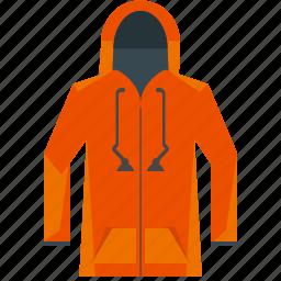 clothes, clothing, fashion, hoodie, jacket, sweatshirt icon