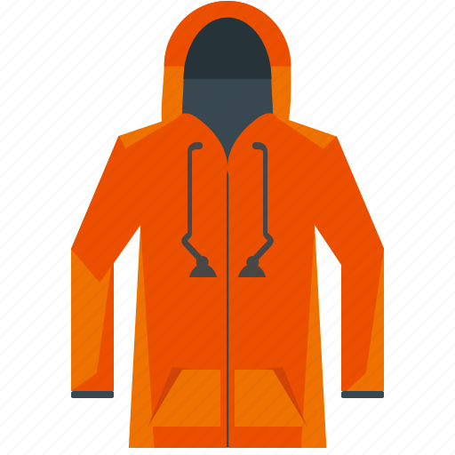 clothes, clothing, fashion, hoodie, jacket, sweatshirt icon