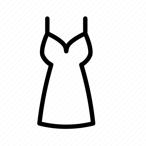clothes, costume, dress, frock, gown icon