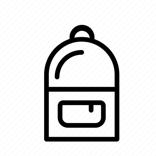 backpack, clothes, haversack, knapsack, rucksack icon