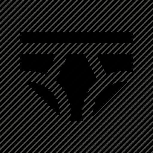 skivvies, underclothing, underpants, underwear, undies icon