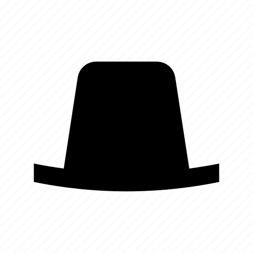 bowler hat, hat, headwear, male hat, top hat icon