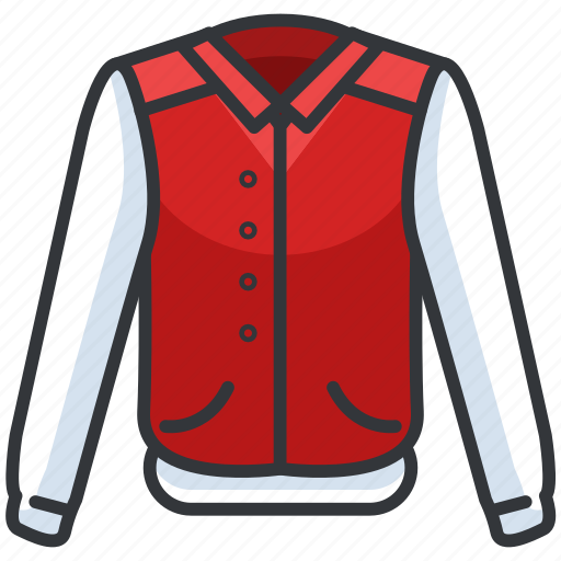 Bomber, clothes, clothing, fashion, jacket icon - Download on Iconfinder