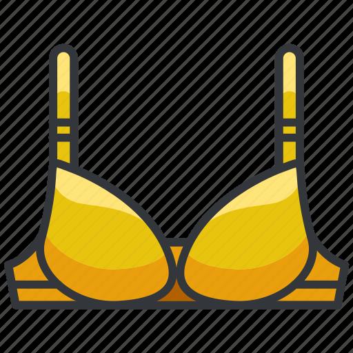 bra, clothes, lingerie, underwear, women icon