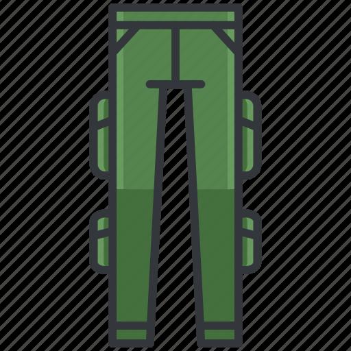 cargo, clothes, clothing, fashion, pants icon