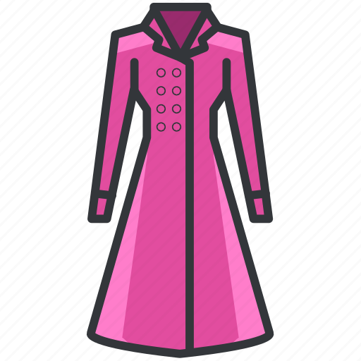 Clothes, clothing, coat, dress, fashion icon - Download on Iconfinder