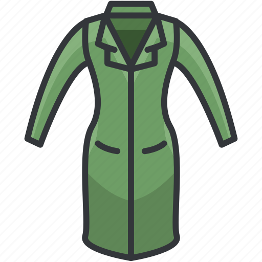 Clothes, clothing, coat, fashion, fitted icon - Download on Iconfinder