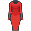 clothes, clothing, dress, formal, women