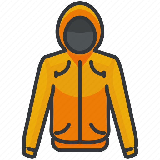 clothes, clothing, fashion, hoodie, jacket icon