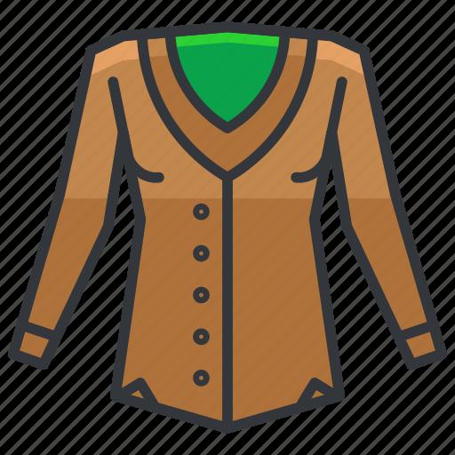 clothes, clothing, fashion, jacket icon