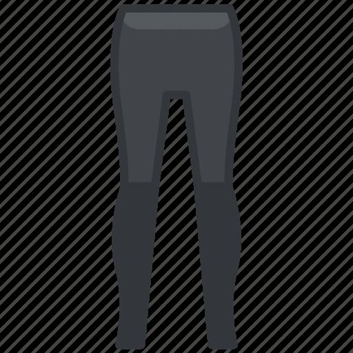 clothes, clothing, fashion, jegging, legging icon