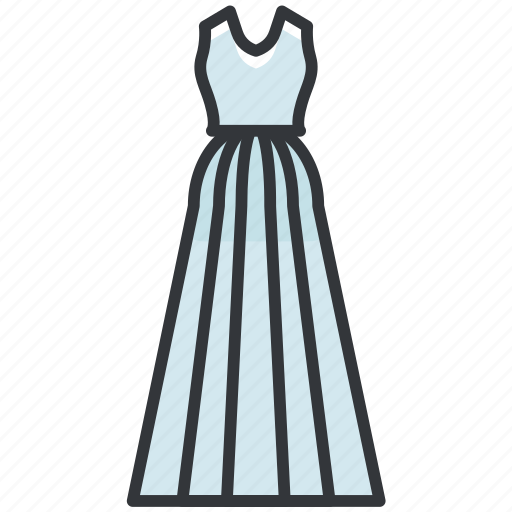 Clothes, clothing, dress, formal, wedding icon - Download on Iconfinder