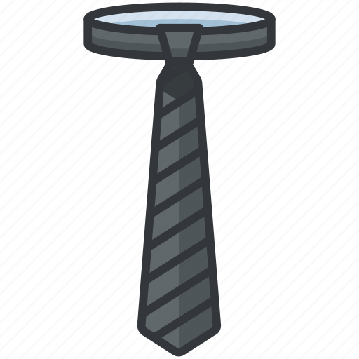 Clothes, fashion, formal, striped, tie icon - Download on Iconfinder