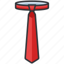clothes, clothing, fashion, formal, tie icon