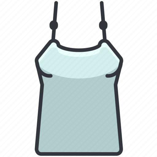 Clothes, clothing, fashion, straps, top icon - Download on Iconfinder