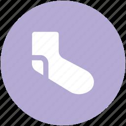 footwear, hosiery, sock, stocking, winter wear icon