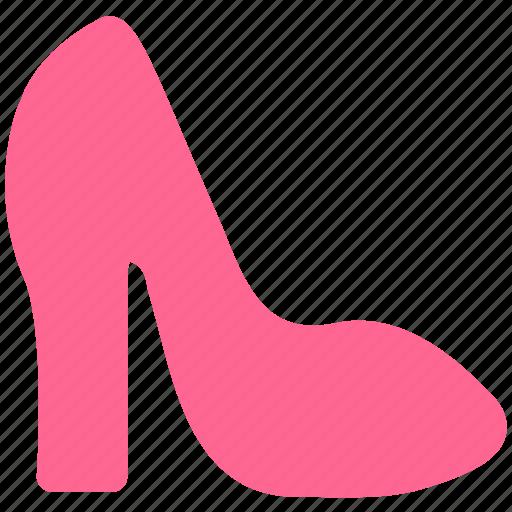 clothing, fashion, high heels, woman icon