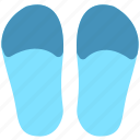 flip flop, footwear, shoes icon