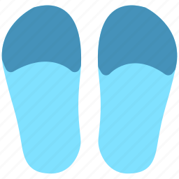 flip flop, footwear, shoes icon