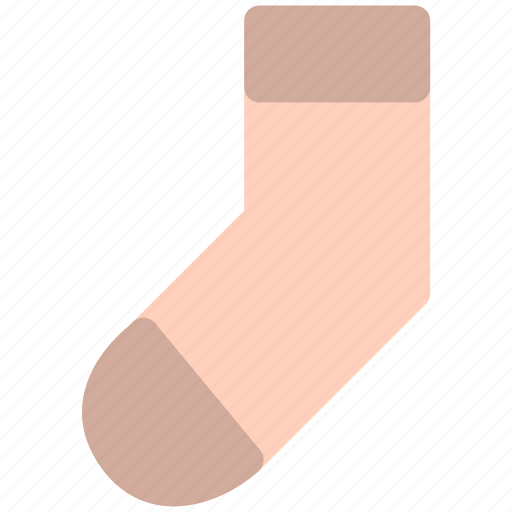 clothes, dress, sock icon