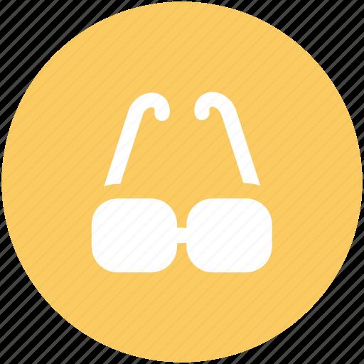 eyeglasses, glare glasses, glasses, shades, spectacles, sun glasses icon