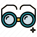 eyeglasses, glasses, optical, reading icon