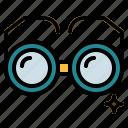 eyeglasses, glasses, optical, reading icon