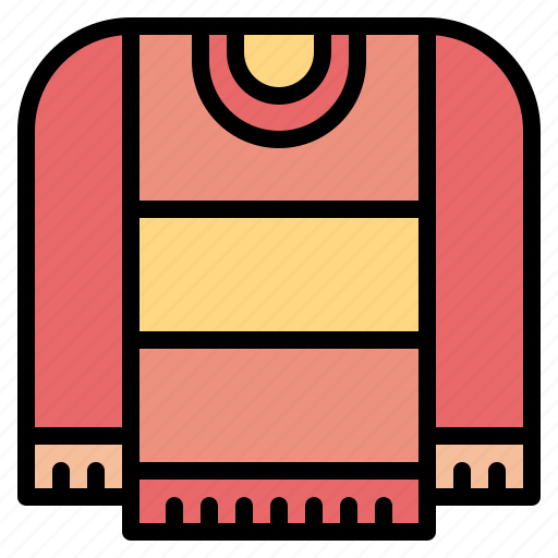 clothing, garment, sweater icon