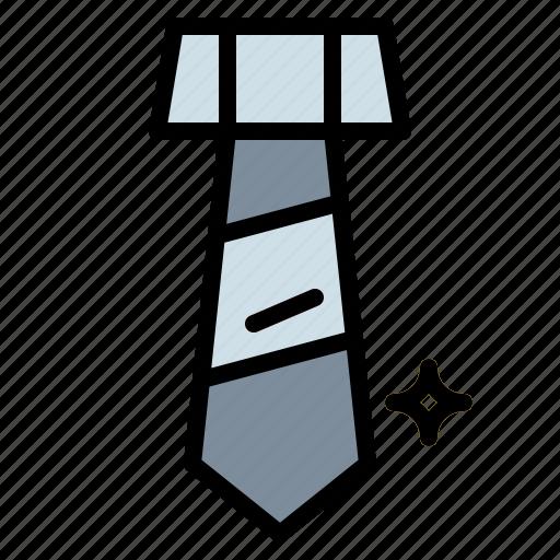 clothing, tie icon