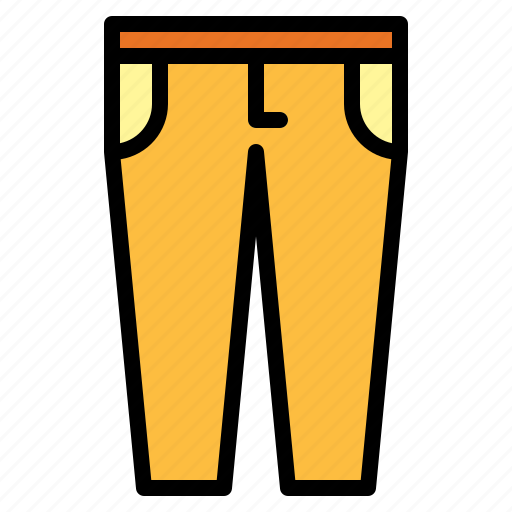 jeans, pants, trousers icon