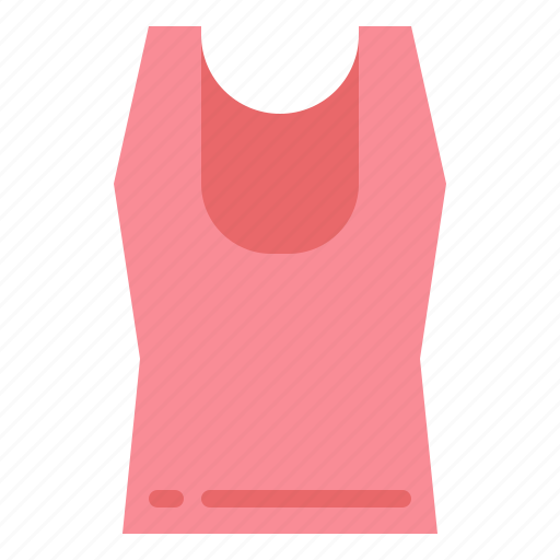 clothing, garment, tank, top icon