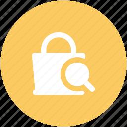 hand bag, ladies purse, purse, search bag, shoulder bag icon