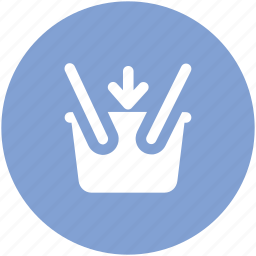 basket, hamper, online shopping, shopping, shopping basket icon
