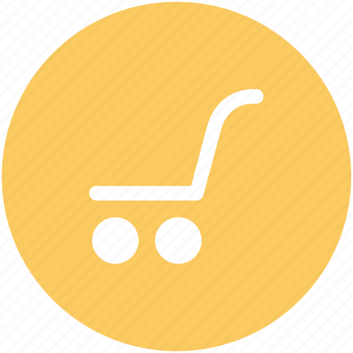 cart, hand trolley, hand truck, luggage cart, packages icon
