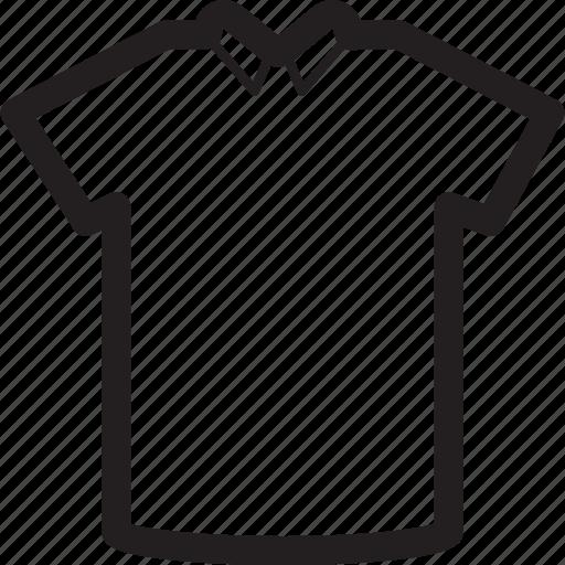 basic, clothes, collar, plain, tshirt icon