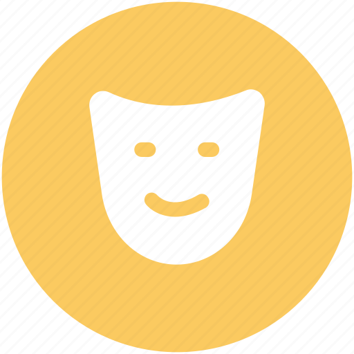 birthday mask, comedy mask, face mask, mask, party mask icon