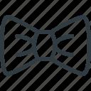 bow, elegant, tie icon