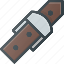 belt, hold icon